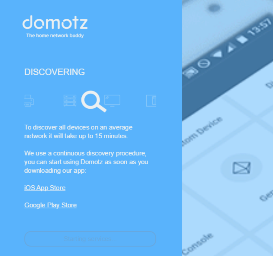 First time setup | Domotz Pro User Guide | tomehost