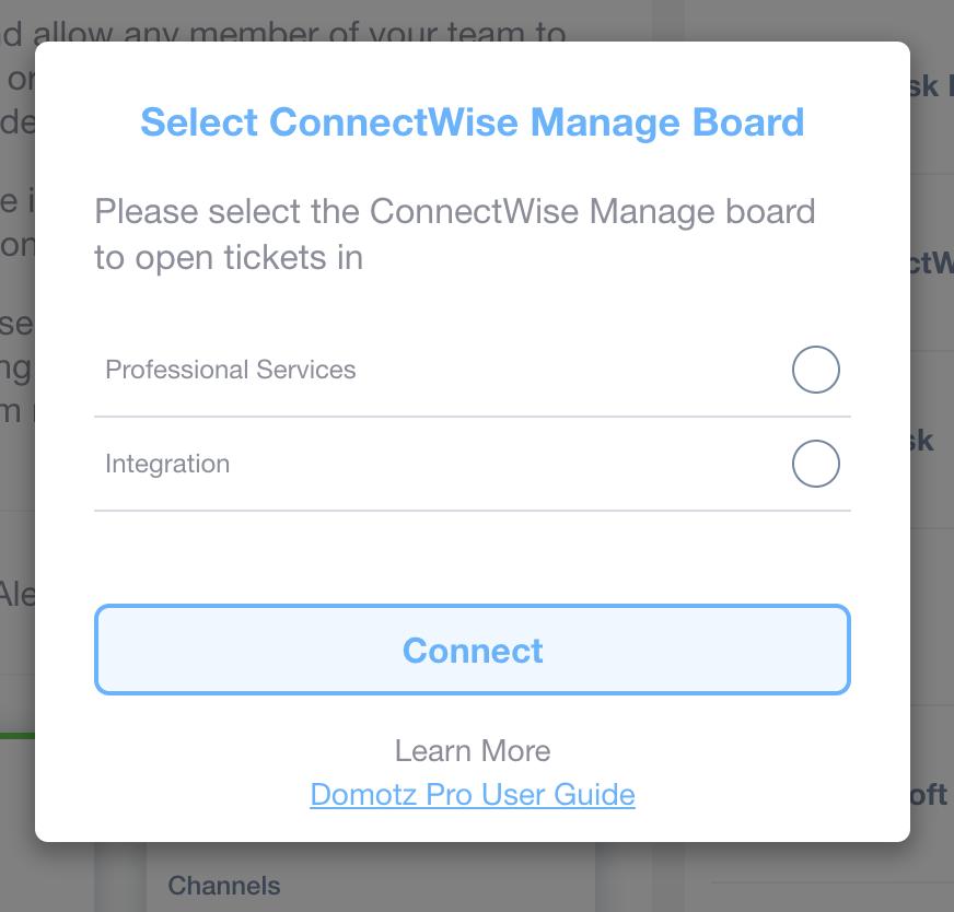 Domotz ConnectWise Manage Integration screenshot 12